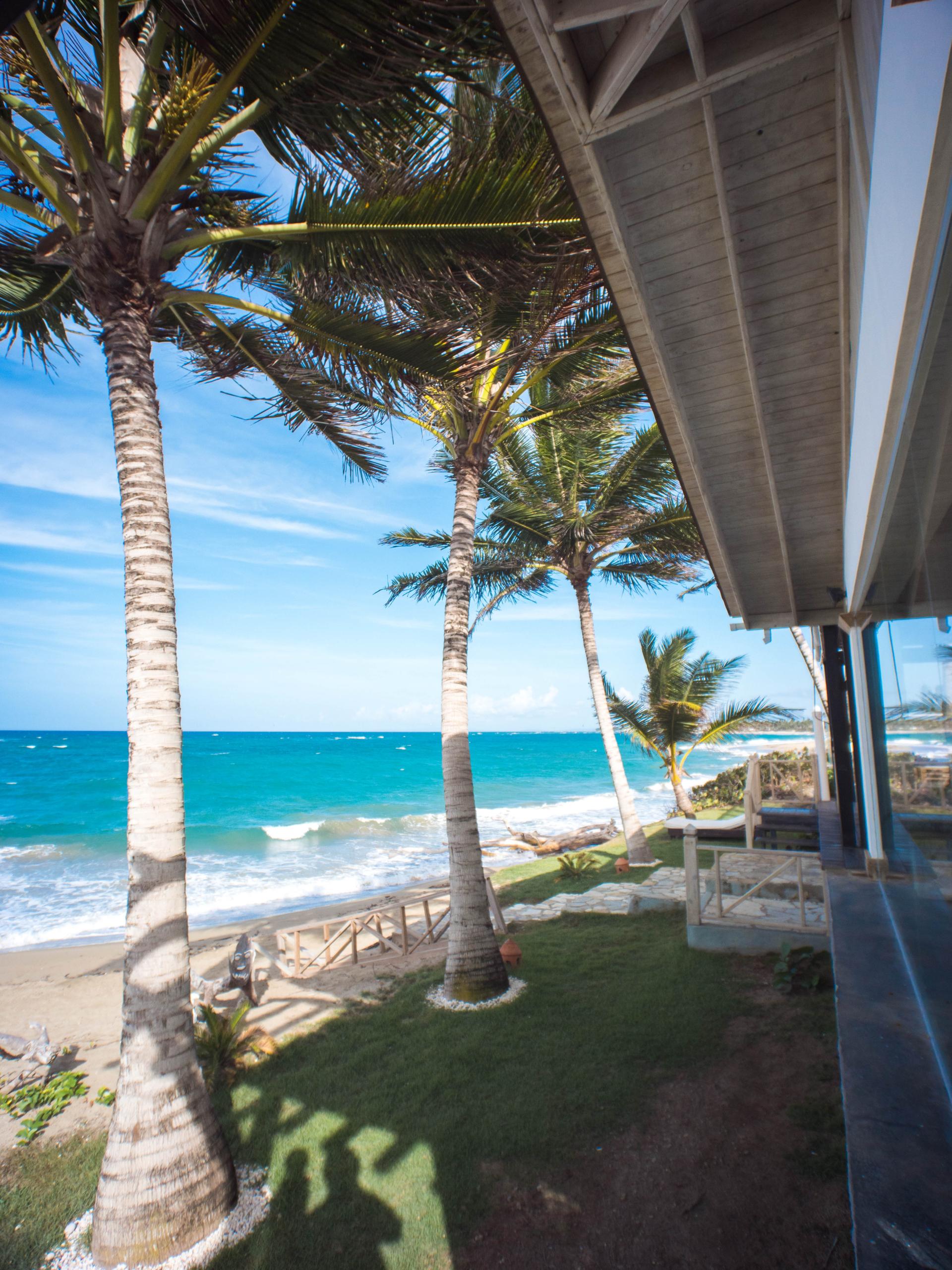 beachfront venue Blue Paradise DR exotic vacation