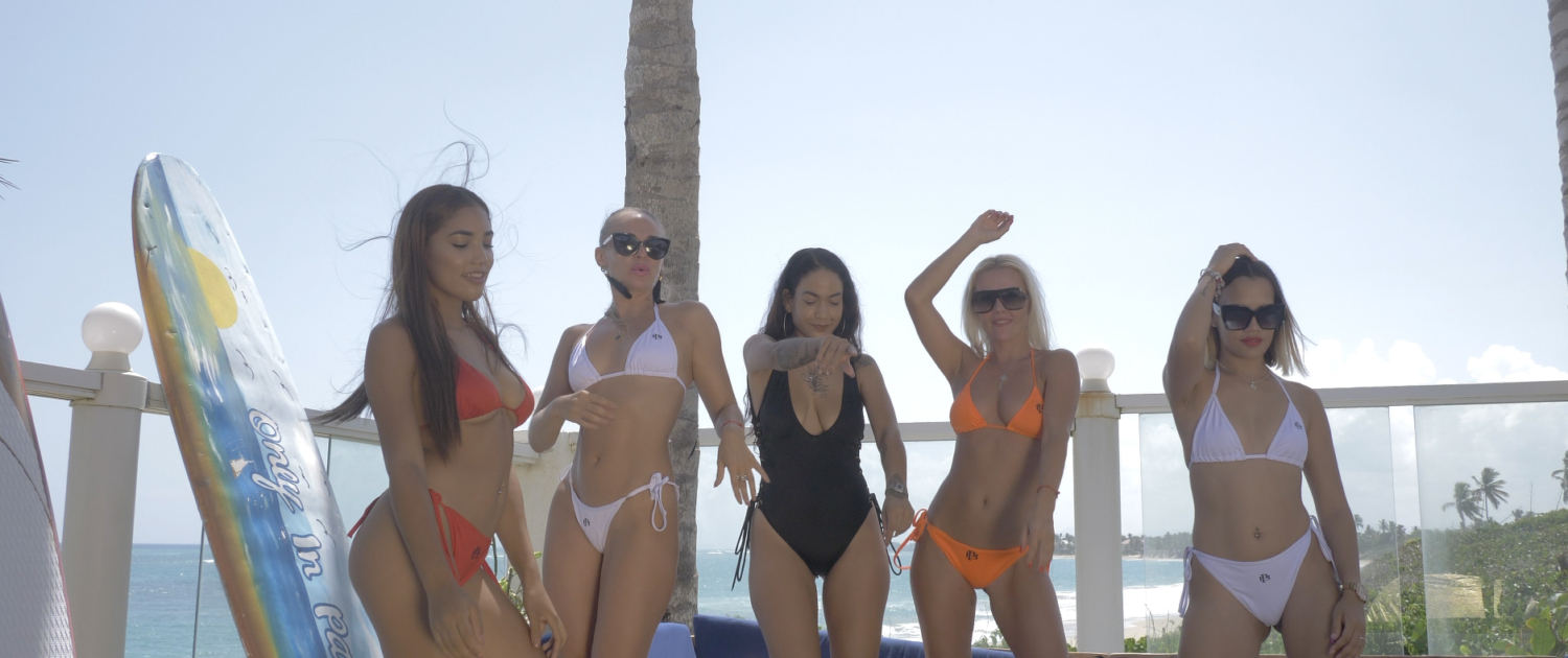 our sexy girls having fun at Blue Paradise DR adult sex vacation