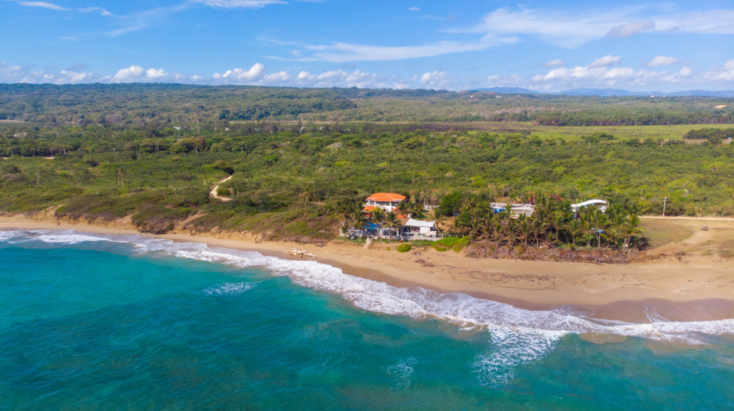 aerial view of Blue Paradise DR sex vacation resort