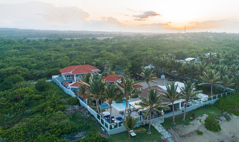 Drone View of Blue Paradise DR